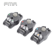 3 Pcs/Set FMA Airsoft Voice Activated Reaction Transfer Device Dummy Model Helmet Tactical Vest Decorations for Airsoft Sport