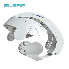 ELERA Electric Head Massager Helmet Scalp Brain Relaxation Electrical Vibration Acupuncture Nerve Stimulator Brain Physiotherapy
