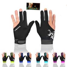 BOODUN Soft Comfortable Breathable Billiards Gloves Single Supply Quality Assurance Price Cheap Sports Gloves Men&Women(China)