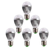 10PCS/lot E27 LED Bulb light 3W LED Lamp AC220V 110V input for Home Use high Quality Toolery warm white pure white led Spotlight(China)