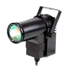 10W RGB Laser Stage Light LED Narrow-Beam Pinspot Effect Stage Lighting RED GREEN BLUE LED DJ Disco Projector Pattern Light