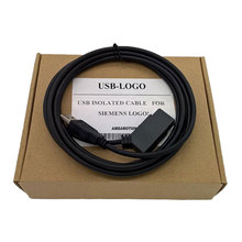 USB-LOGO 6ED1057-1AA01-0BA0 programming cable for LOGO! USB-CABLE download USB ISOLATED CABLE(China)