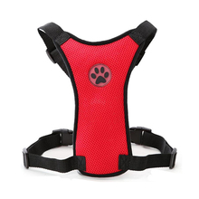 Strong Material Dog Harness Safety Vest Dog Clothes for Breakable Leash Soft Nylon Mesh Safety Strap Vest Top Quality 5 Colors