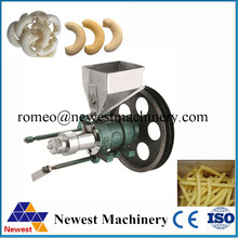 New design wheat flour puffed food extrusion machine,rice/corn food extrusion machine for snack,4kw flour puffing food extruder