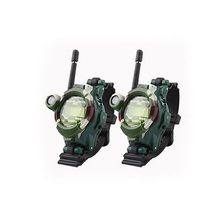 2Pcs/pair Camouflage military field seven in one parent-child walkie-talkie watch intercom gift toys(China)