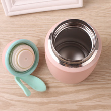 Portable bottle Water Bottle Cute Rabbit Mini Thermos Cup Mug Travel Vacuum 304 Stainless Steel Insulation Flasks Thermos Mug