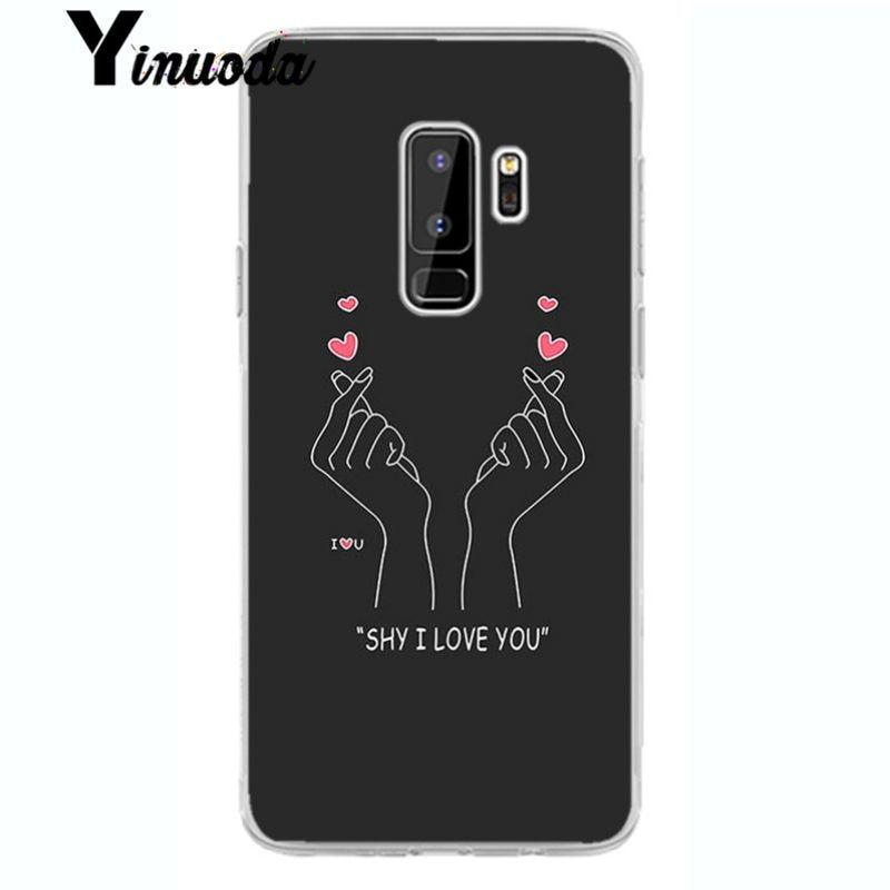 EXO kpop Heart Drawing Love on the finger Pull hook