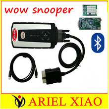 3pcs/lot DHL wow snooper with Bluetooth V5.008 R2 software WOW CDP tcs cdp pro cars trucks auto diagnostics tools better