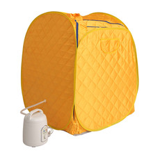 Portable Steam Sauna room Family sauna steam box Skin Spaning body Foldable sauna tent sauna bath machine(China)