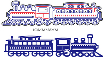 New Metal Steel Train locomotive Cutting Dies Stencil For DIY Scrapbooking Album Paper Card Photo Decorative Craft DIE CUT