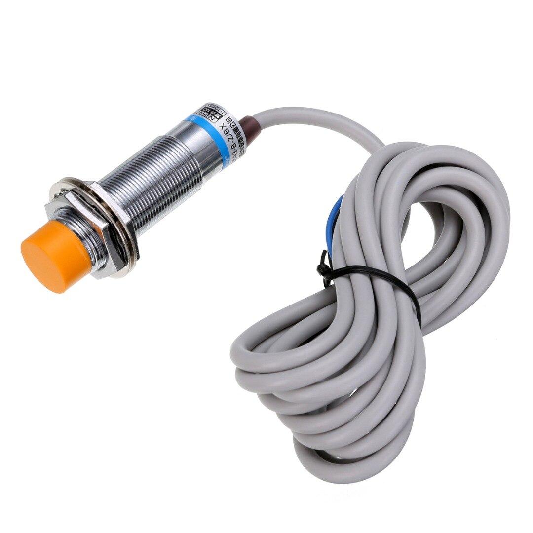 1pc LJC18A3-B-Z/BX Approach Sensor NPN NO Cylindrical Capacitive Proximity Switch DC 6-36V 300mA 100Hz