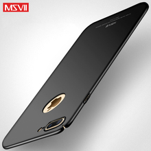 Original MSVII Phone Case For Apple iPhone 7 Plus Hard Frosted PC Back Cover 360 Full Protection Housing For iPhone7