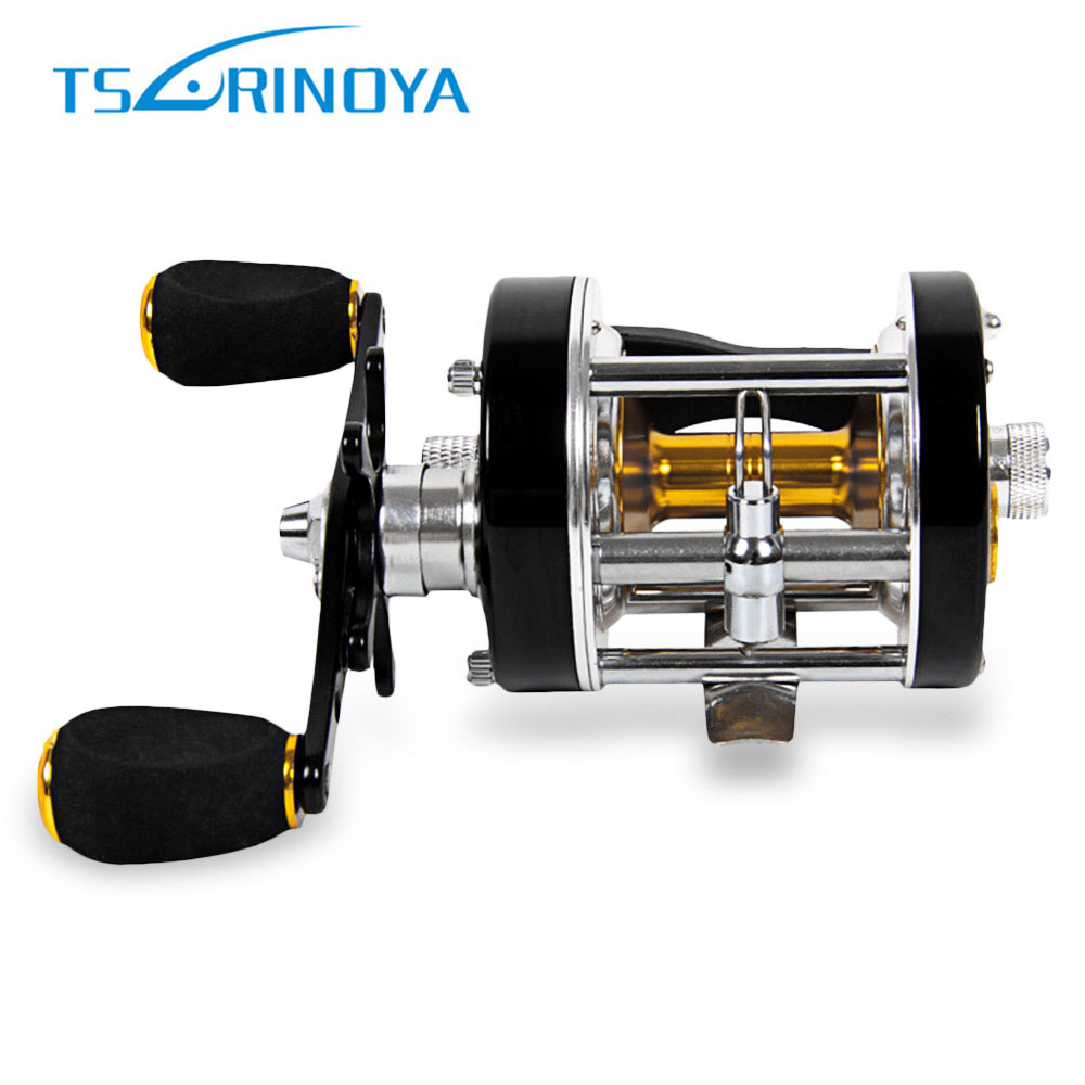 TSURINOYA Mini Right Left Hand Casting Fishing Reel Full Metal Sea River Ocean Boat Gear<br>