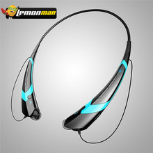 LemonMan HBS-760 Wireless Bluetooth Headphones Bluetooth 4.0 portable bluetooth headset Vibration earphone Universal HBS760(China)