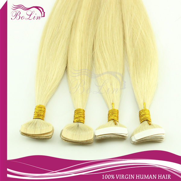 50%discountEmosa Tape Hair Extensions,Natural Human Hair Extensions,blonde color Silky Brazilian Virgin Hair,Remy Tape Skin Weft<br><br>Aliexpress