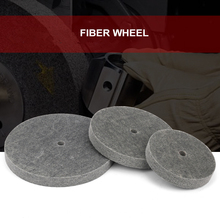 1pcs 150/200/250/300mm Fiber Wheels Nylon Wheel Bowl Polishing Abrasive Discs 7p Grinder Tool(China)