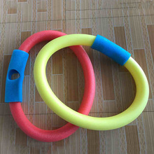 Hot 1pcs 6.5*150cm Learn Swimming Pool Noodle Water Float Aid Woggle Swim Flexible LDPE Floating bar(China)