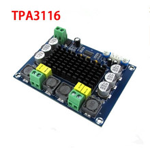 DC 12V 24V 100W*2 TPA3116 D2 Dual Channel digital Power audio amplifier board