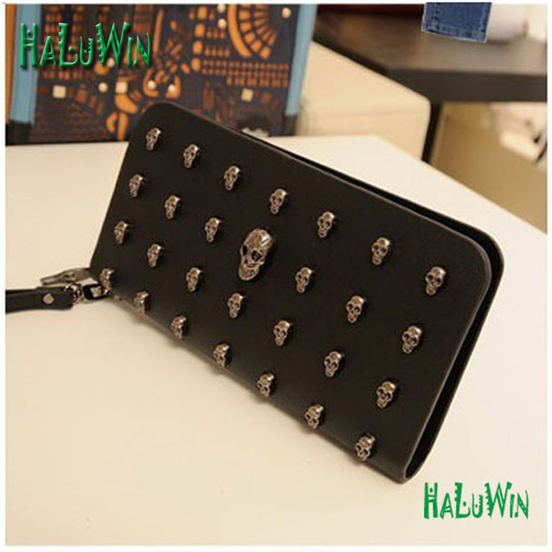 NDW fashion women lady wallets cool style hot sale quality puleather wristlets bag(China)