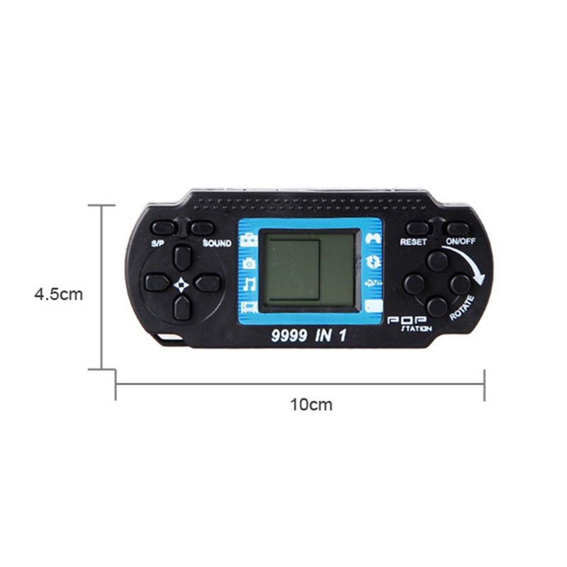 2017 Children's Players Tetris Classic Nostalgia Game   Kids Portable Handheld Game Console Hand-held Gaming Device For PSP