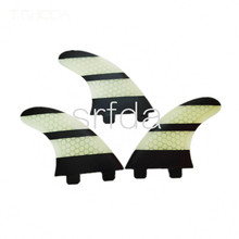 free shipping surfboard fins New design FCS G3  fiberglass honey comb material for surf fins(S size)