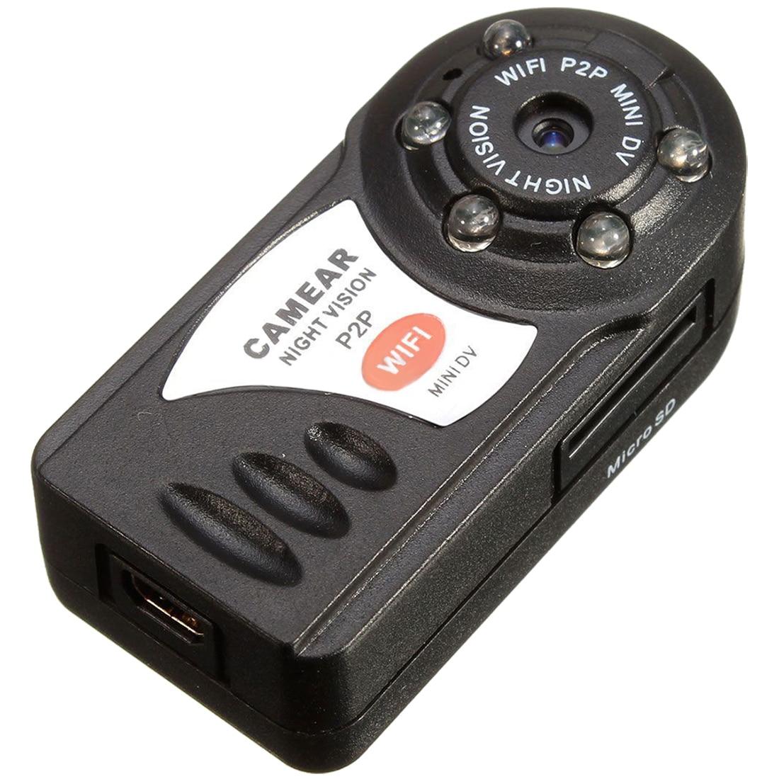 MOOL Mini Wireless WIFI/IP Remote Surveillance DV Security Cam Micro Camera For IOS