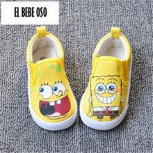 EL BEBE OSO Children Sneakers Tenis Infantil Childrens Shoes Boys Loafers girls cartoon toddler shoes 1 - 4 years kids sneaker(China)