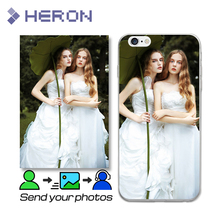 Customized Image Print Case for iPhone 4 4S 5 5S SE i6 6S i7 7 Plus Custom Photo on Soft TPU Transparent Back Cover