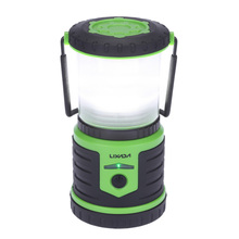 5W 400LM Rechargeable Ultra Bright Camping Lantern 6000mAh Mobile Power Bank 6 Modes Emergency Waterproof Portable for Hiking(China)