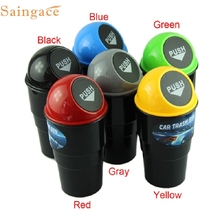 Durable hotselling trash bin NEW car garbage can Car Trash Can Garbage Dust Case Holder Bin