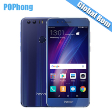 Global ROM Huawei Honor 8 4GB RAM 32G/64GB ROM 5.2 inch Octa Core Kirin 950 Cell Phone QuickCharge 9V2A Android Dual Back Camera