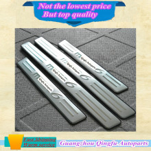 High quality Threshold of Article Stainless steel Car door sill Scuff Plate stick frame lamp pedal cover for Mazda 6 Mazda6 4pcs