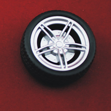 Buy 6pcs 3*40mm tamiya rubber Wheel hot wheel toy plastic wheel Toy Accessories Technology Model Parts/rc/robot/baby toys 403AH for $4.05 in AliExpress store