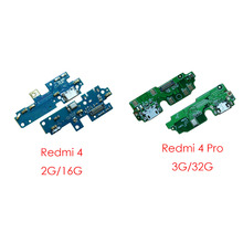 1pcs dock Micro USB charging Charger Flex Cable Port board with Microphone Module for Xiaomi Redmi 4 pro Redmi4 pro 3G 32G(China)