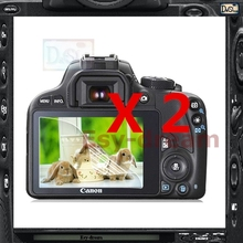 2pcs High Quality LCD Screen Film Protector For Canon 100D Kiss X7 Rebel SL1 PB430