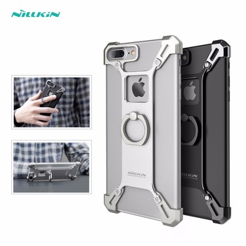 Nillkin Bardes Aluminum alloy back Cover with ring phone holder for iphone 7 plus case 5.5 inch for iphone7 plus cover bumper