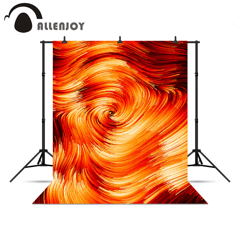 Allenjoy photocall Fire red gold vortex decoration artistic photo backdrop for a photo shoot backgrounds for photography<br><br>Aliexpress