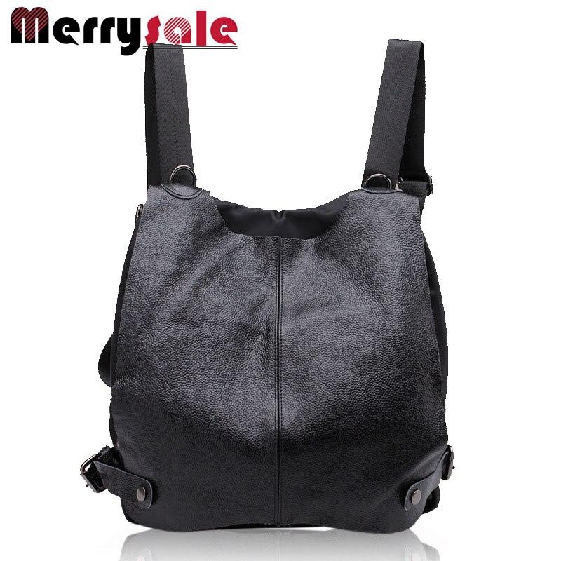 Women general leather backpack  student flashes shoulder bag high quality bag<br>