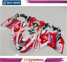 ABS Plastic Injection Motorbike Fairing Bodywork For Ducati  Panigale 1199 899 2013 2014 2015 Cowling FIAMM
