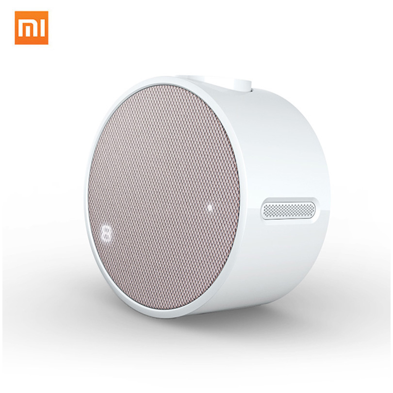 Xiaomi Mini Portable Bluetooth 4.1 Speaker Wireless Music Alarm Clock Audio Speakers 2600mAh For Smartphone Loundspeaker