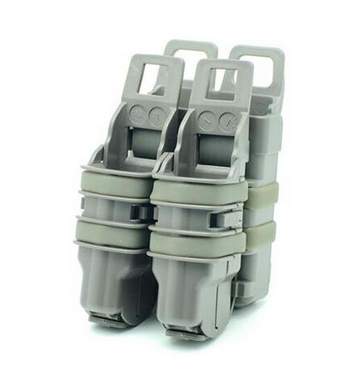EFOSE NEW DOUBLE FAST PISTOL MAG MAGAZINE POUCH HOLDER ATTACH MOLLE SYSTEM FG<br><br>Aliexpress