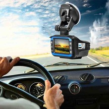 3-in-1 Car DVR Dongle GPS + RD + Dash Camera Fixed Speed Flow Mobile Speed Radar Detector Driving Recorder Supports Russian(China)