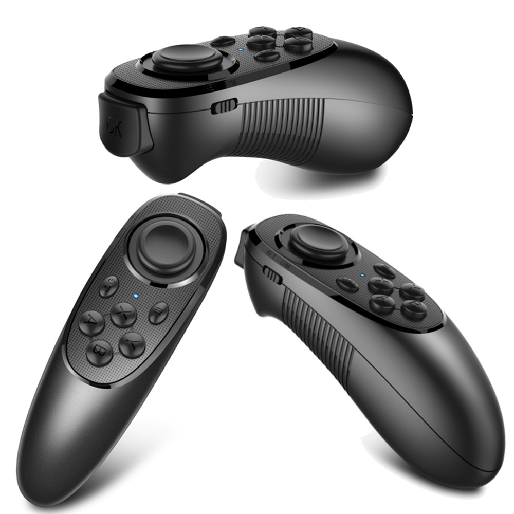 Mocute Mini Game Handle 3D VR Box Controller Wireless Bluetooth Remote Pad Joystick Selfie Shutter for PC Smart TV iOS Android<br><br>Aliexpress