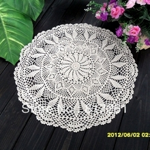 Free shipping crochet lace table cloth cover overlay for home decoration wedding table cloth cutout tablecloths white beige