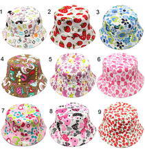 2016 Fashion Baby Hat Toddler Kid Sun Baby Cap Sunshine Beach Child Flower Pots girls Children Accessories(China)
