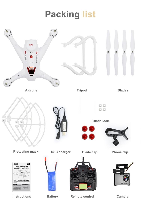 X183 Dual GPS Drone Follow me (20)