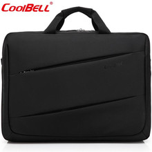 "Hot New Notebook Bag 17.3"" Shockproof Laptop Bags Waterproof Briefcase Large Capacity Travel Men Bags Computer Shoulder Bag A695(China)"