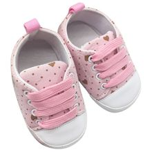 New Kids Infant Baby Boys Girls Soft Soled Cotton Crib Shoes Casual Prewalkers(China)