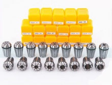 Free freight ER11 13 PCs clamp set 1 mm to 7 mm for milling CNC engraving machine tool motor axis.(China)