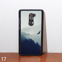Xiaomi mi 5s plus mi5splus hard edge cover Ocean sky landscape painting of mountains Natural case STYLE F(China)